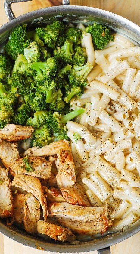 Creamy Chicken and Broccoli Pasta