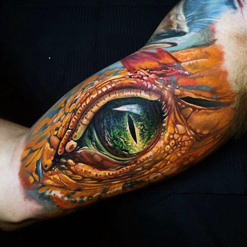 Dragon Eye Tattoo Artist Vremya Tatu Times Tattoo Ojo Tatuaje Nuevos Tatuajes Tatuajes