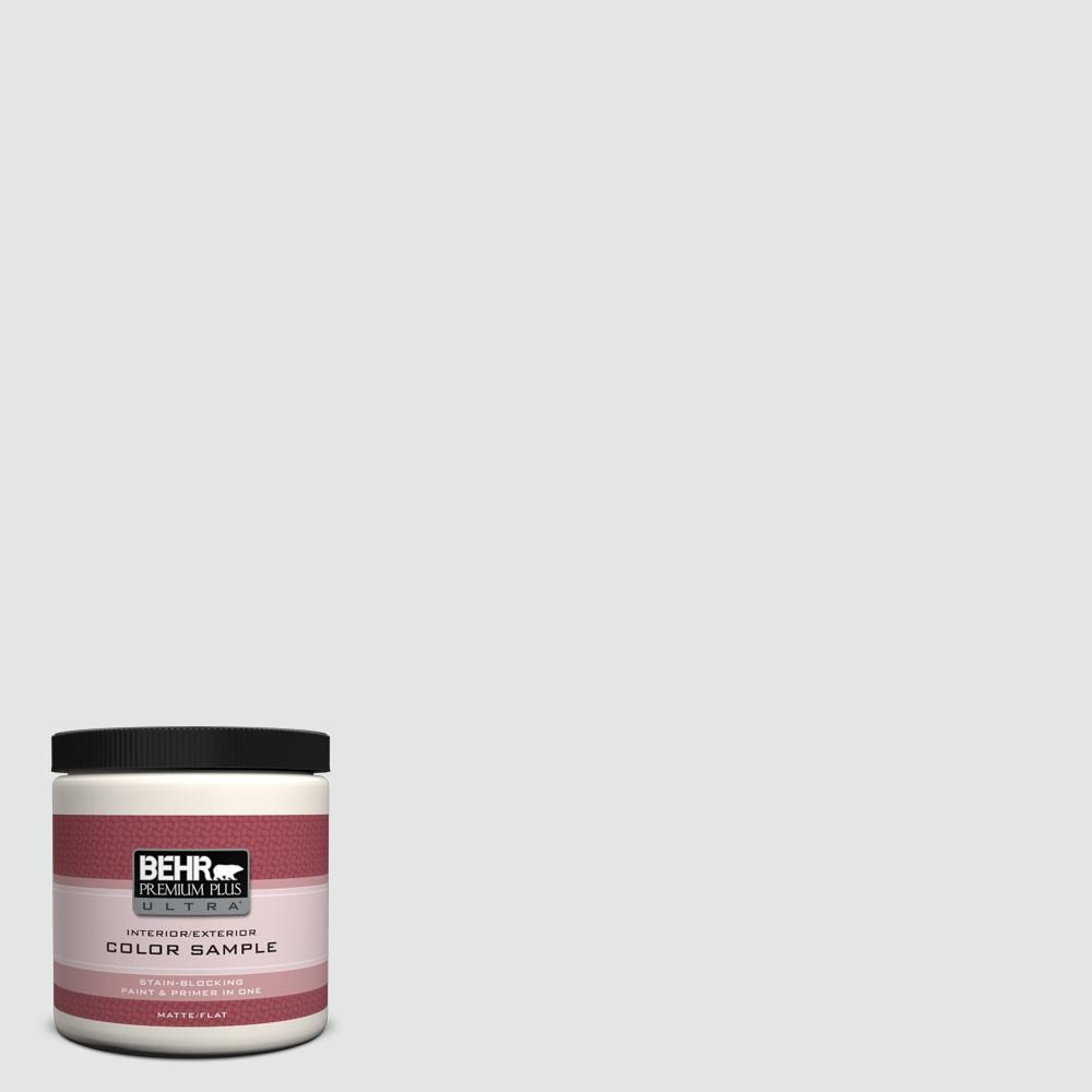 BEHR Premium Plus Ultra 8 oz. #PPU26-13 Silent White Interior ...