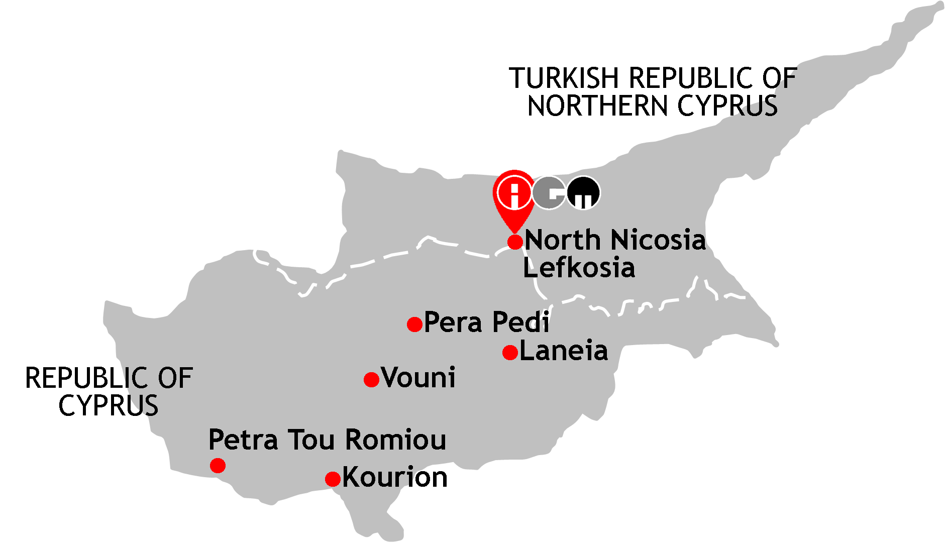 Cyprus northern cyprus destination chronicle my journeys mapped cyprus northern cyprus destination chronicle gumiabroncs Images