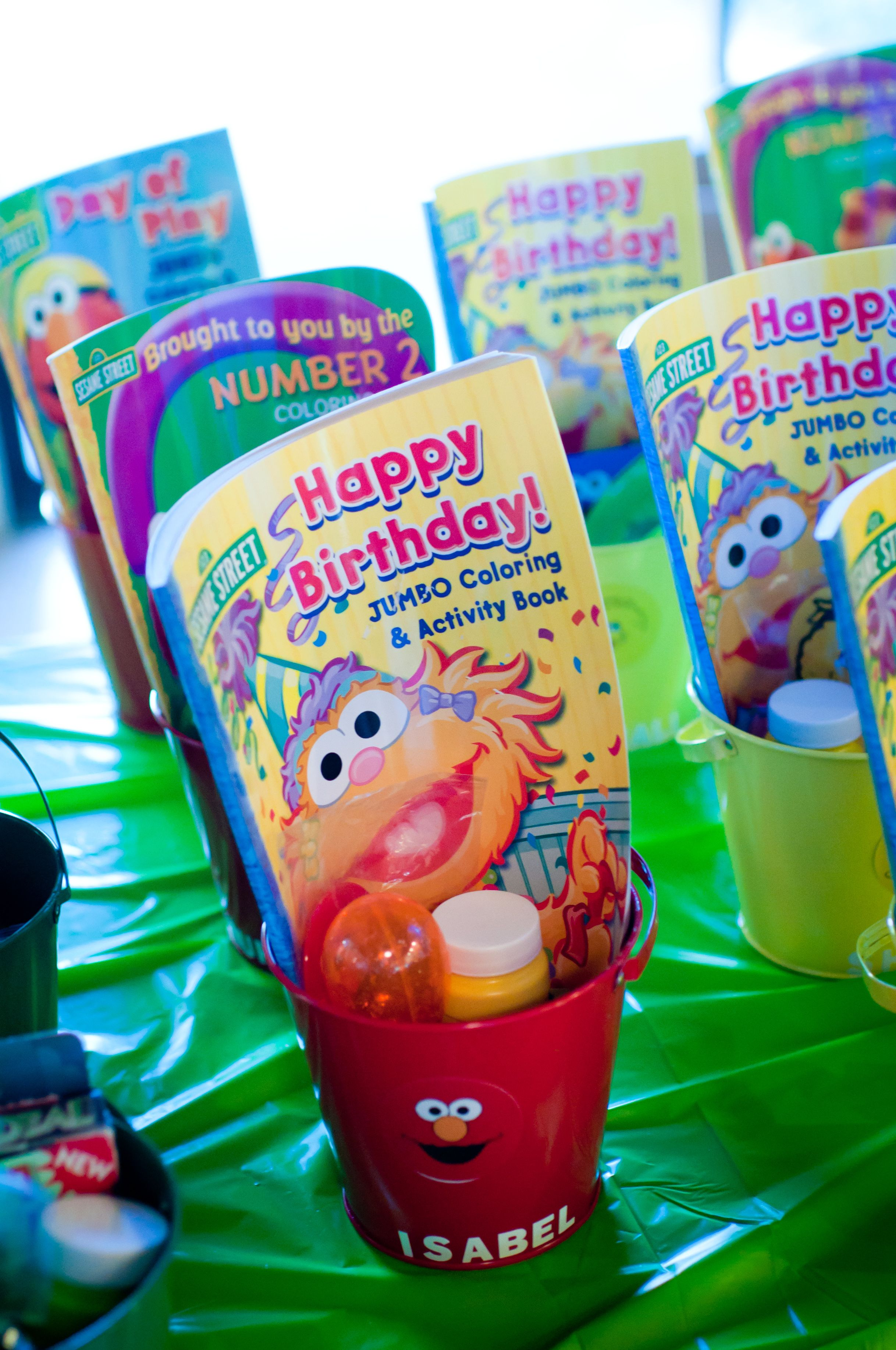 Sesame Street Party Favors | Sesame street birthday ...