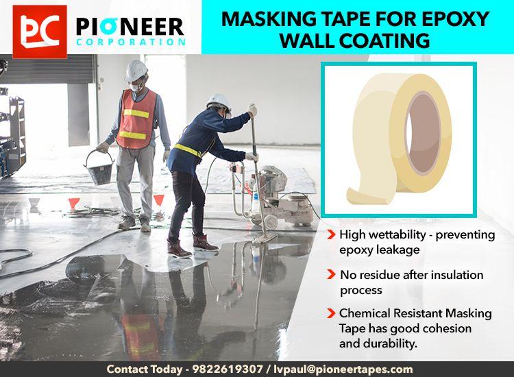Masking Tape For Epoxy Wall Coating Masking Tape Tape Painting Masking Tape For Painting