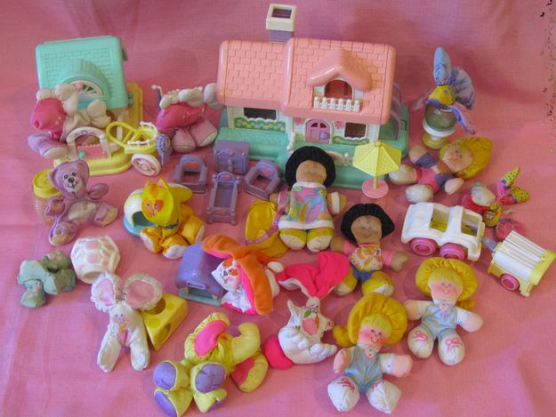 Talk 80 s girls toys are not