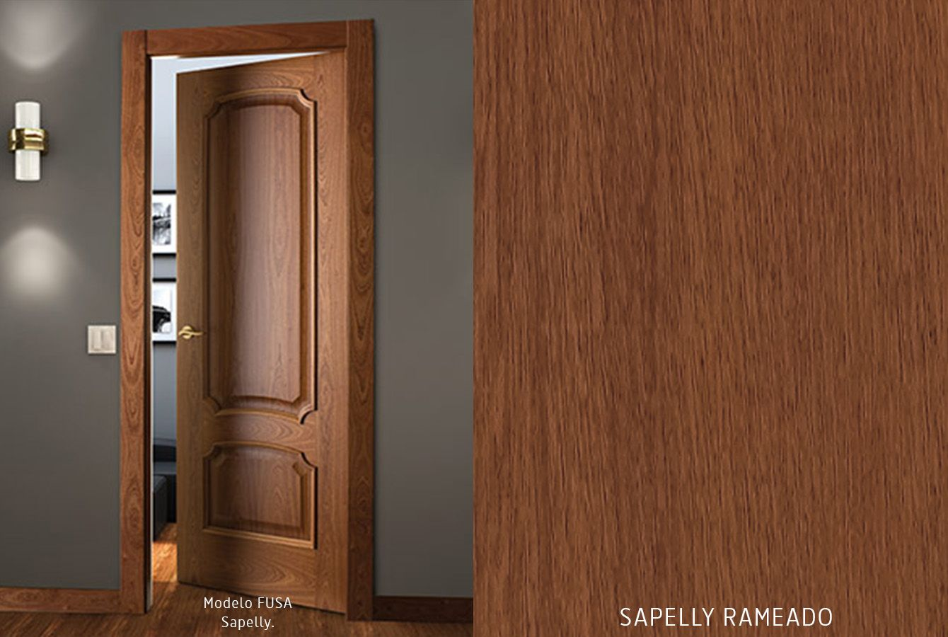 Puertas de interior de madera acabados de Puertas Castalla ...