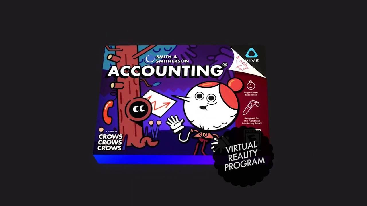 Accounting a new VR game featuring Justin Roiland ( from