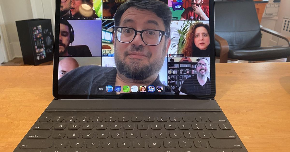 How To Have Zoom Meetings Like A Pro From Your Ipad Video Chat App Cnet New Ipad Pro