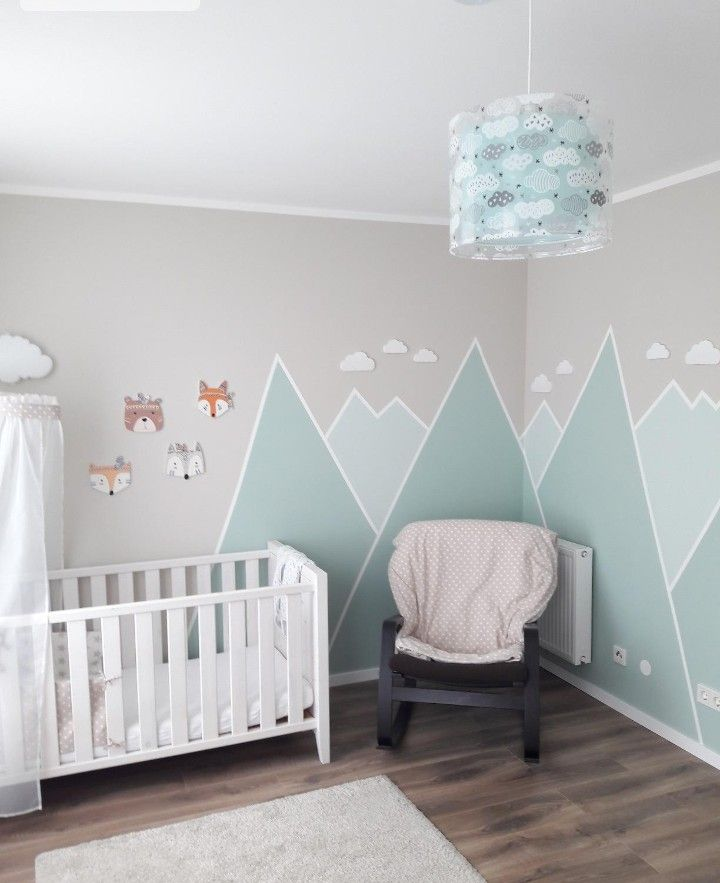 Berge. Baby room decor, Boy room, Baby boy rooms