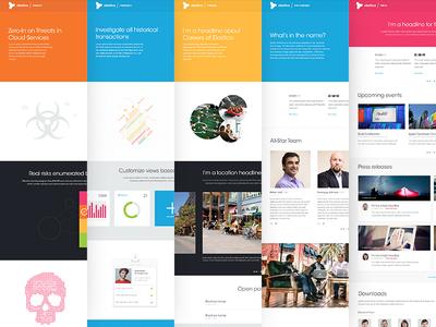 Elastica Even More Web Design Design Gui Design