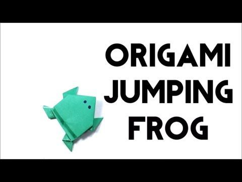Photo of How to Make Origami Jumping Frog – Traditional Style For Beginners – Origami Frog – DIY Craft…
