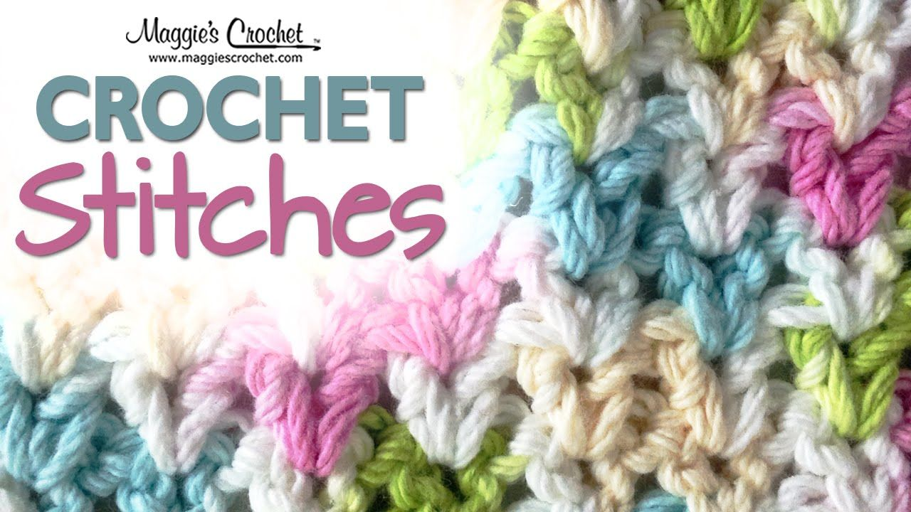 Stitch Repeat V-Stitch Free Crochet Pattern - Right Handed | Häkeln ...