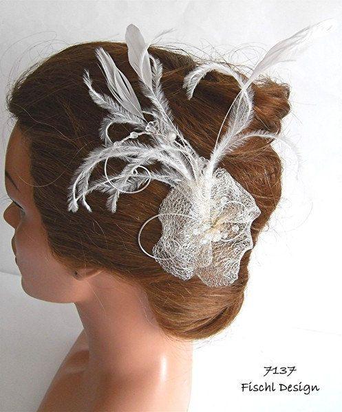 7137 Hochzeit Braut Haarschmuck Blute Draht Ivory Von Fischldesign 32 00 Haarschmuck Braut Hochzeit Kopfschmuck Haarschmuck