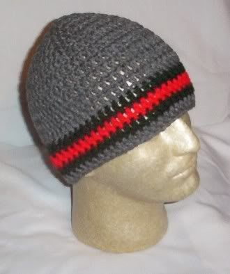 Free Crochet Mens Beanie Patterns Hand Crochet Mens Skull Cap