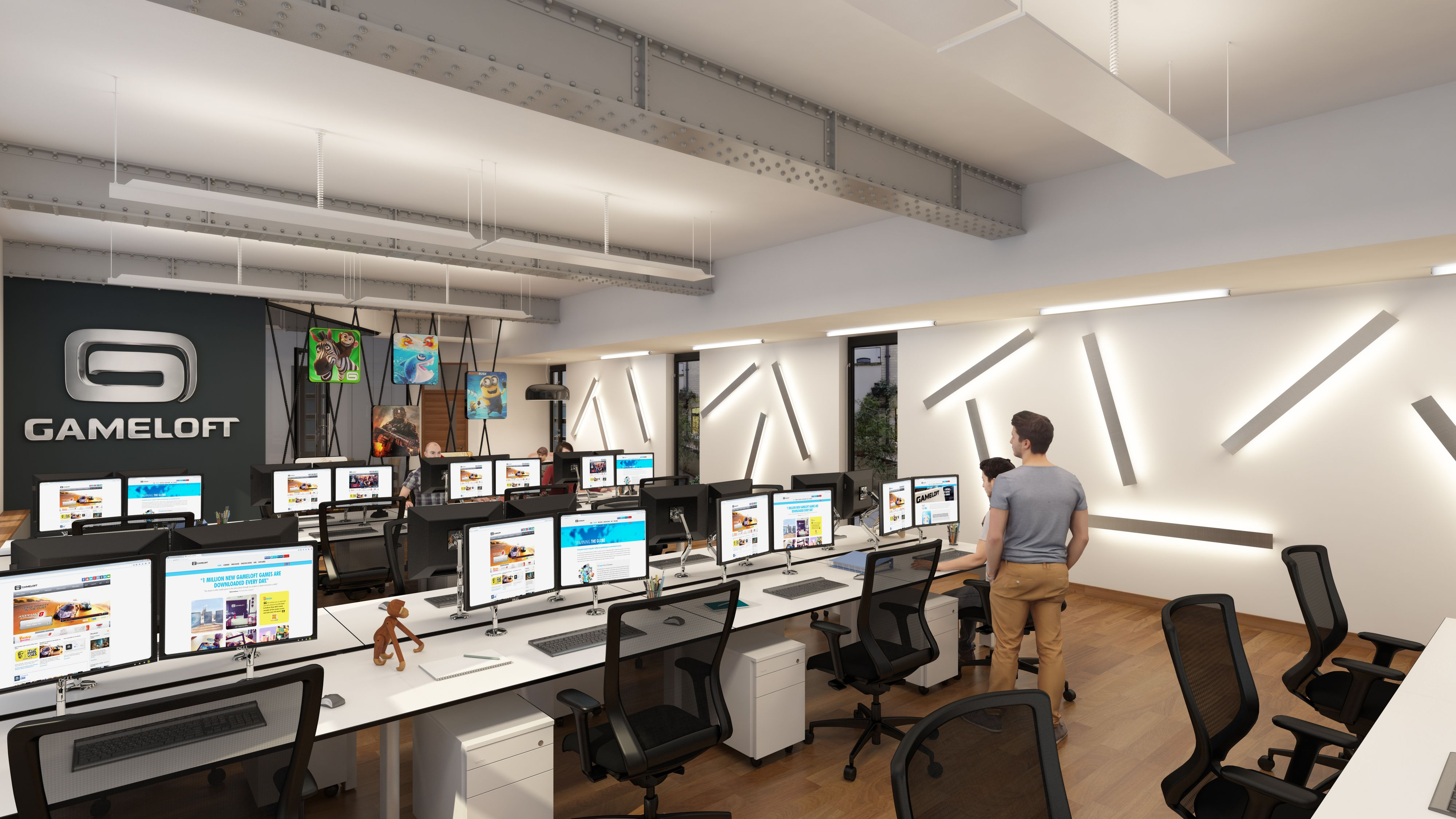 A Quick Look Inside Gamelofts New London HQ