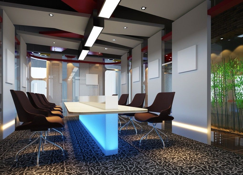 Conference room google search panthers office for Funky office designs