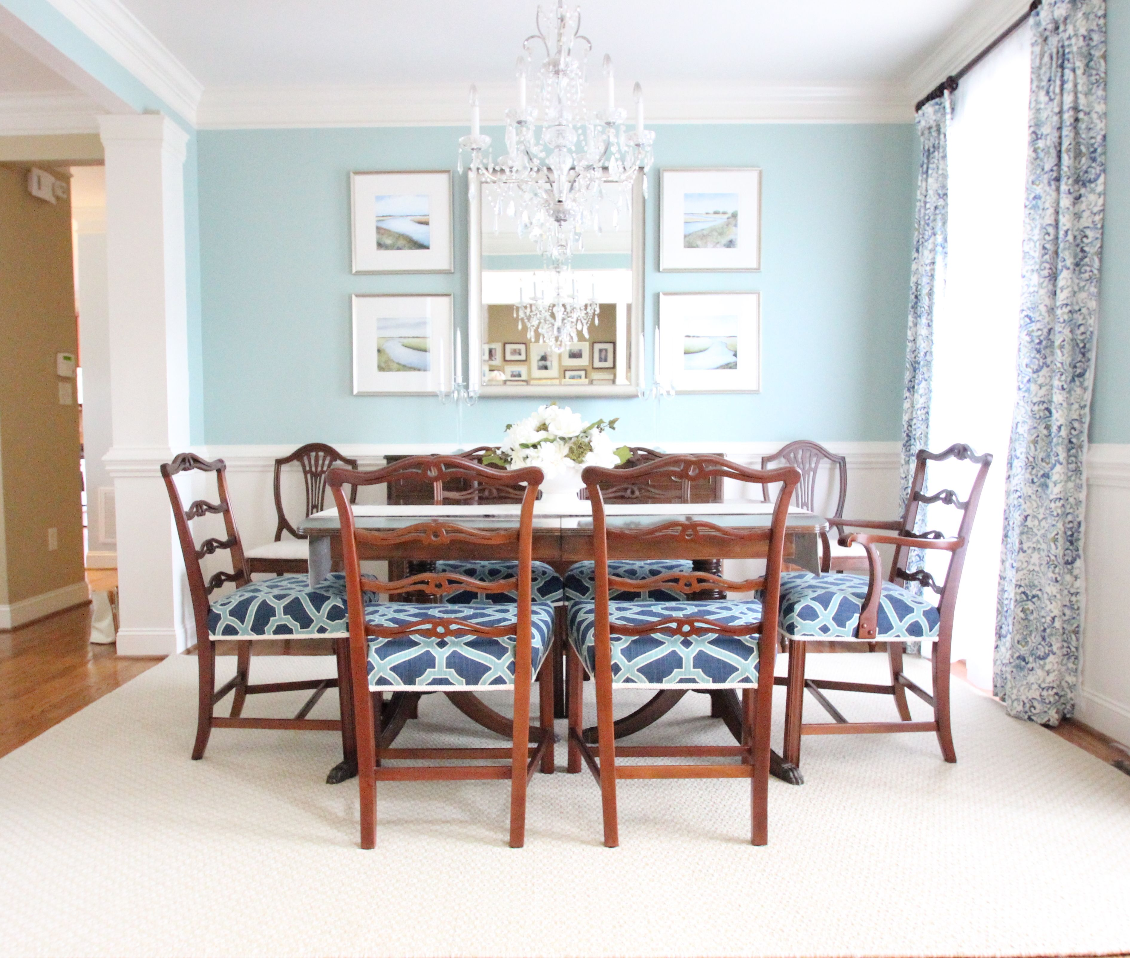 Favorite Spa Blue Paint Colors 2016  Indigo Paint Colors And Colors Unique Blue Green Dining Room Decorating Inspiration