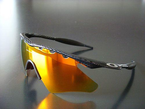 oakley m frame carbon vented fire iridium heater flickr