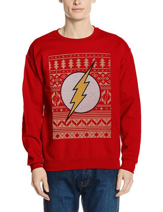 Pull De Noel Geek.32 Pulls Et Sweat Shirts De Noël Dc Comics The Flash
