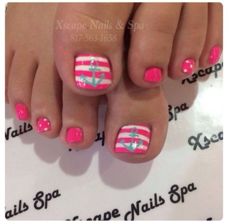Fun #Summer Pedicure Ideas to Make Your Feet Stand out ... | nail ...