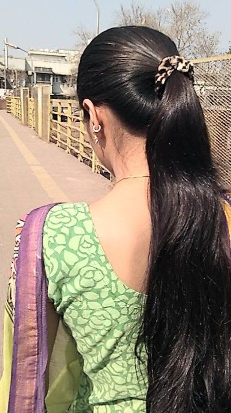 Silky long  pony Long  hair  Hair  Ponytail hairstyles