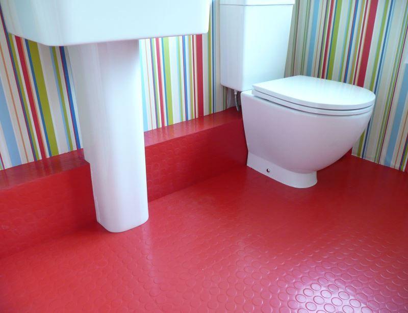 10 Rooms With Rubber Flooring  Rubber Flooring Bathroom Designs Extraordinary Bathroom Flooring Options Design Decoration