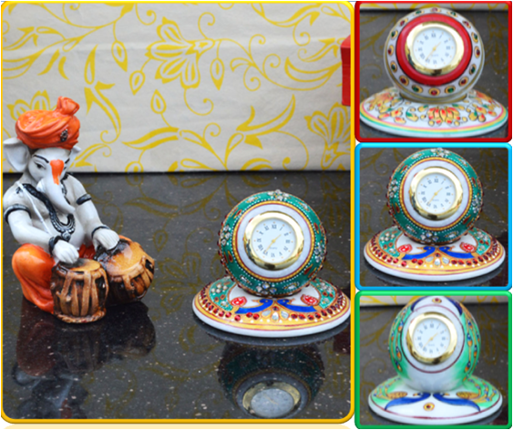 #Clocks with #traditional motifs and prints have become fashionable these days. They also act as #perfectgifts for various #festivities and occasions.