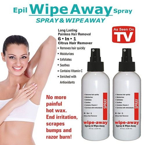 Wipe Away Hair Removal With Images Hair Removal Spray Hair