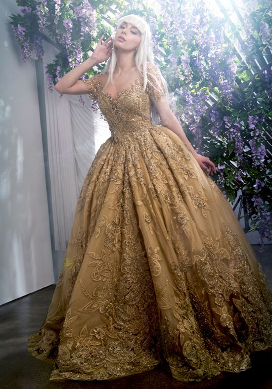 Gold Wedding Dresses