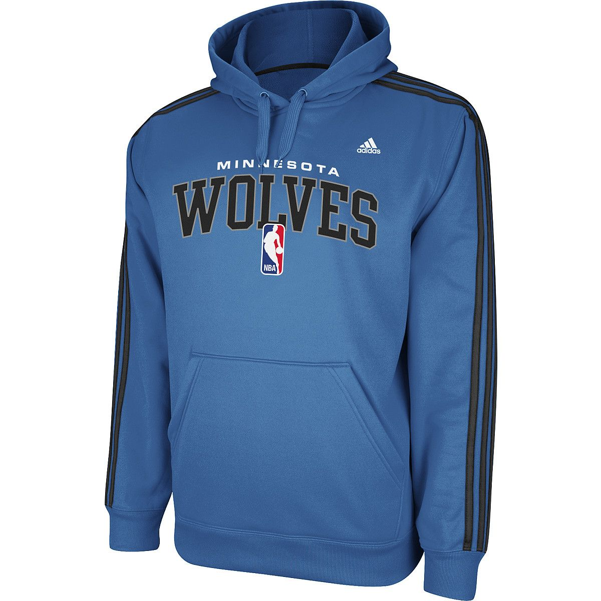 sale retailer 357f3 55ecb Adidas Minnesota Timberwolves 3-Stripe Hoodie /// $54.95 ...