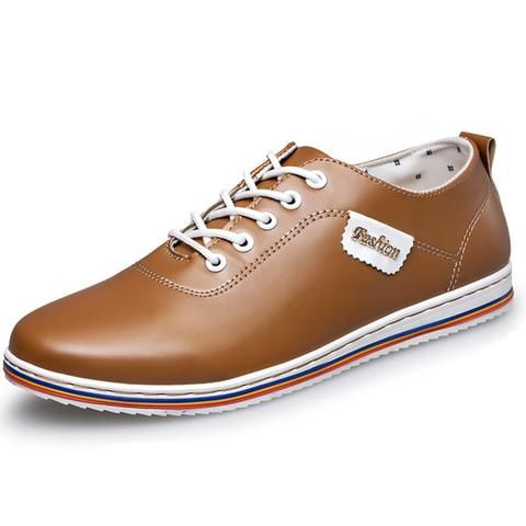 Men's Casual Leather Kicks