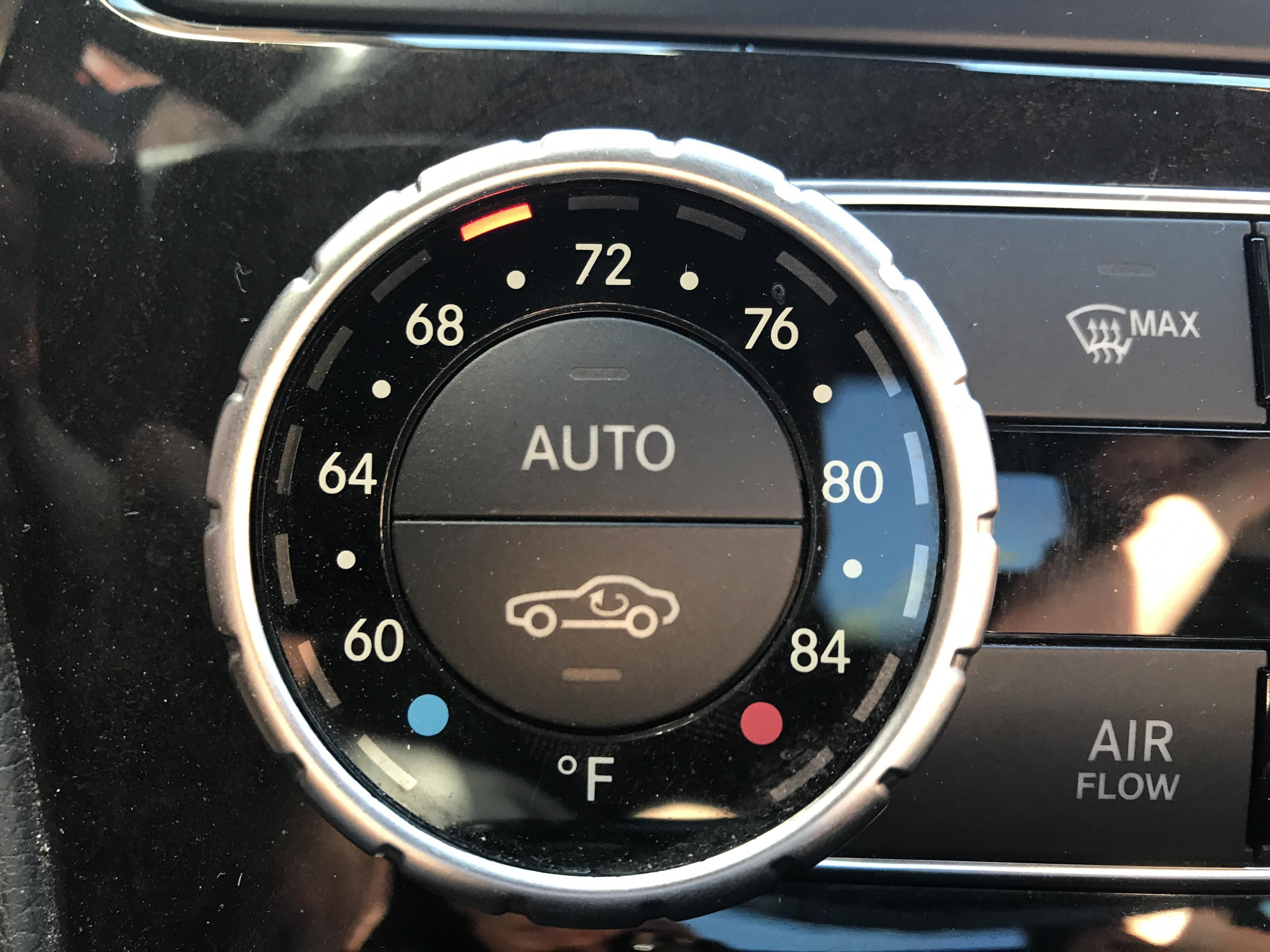 The Air Recirculation Symbol On My Car Is The Exact Shape Of The Car