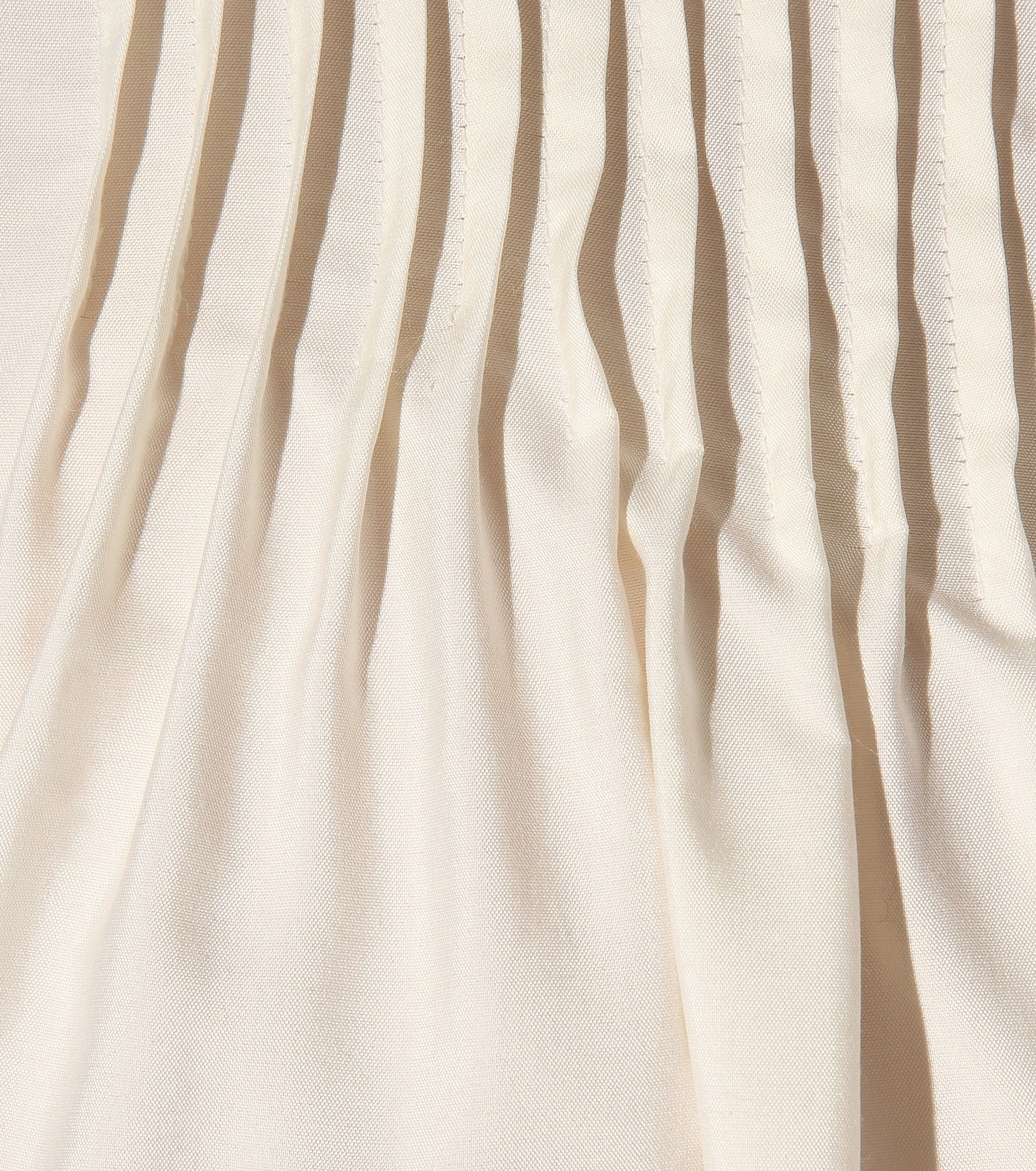 Pleyel cream silk blouse