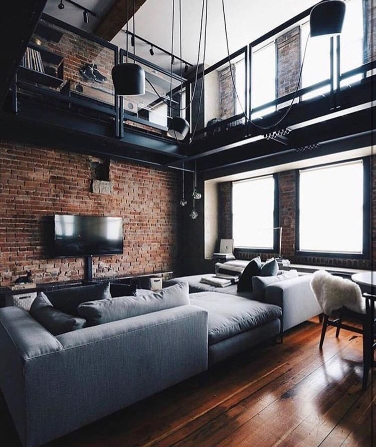 Loft style mobilia industrial house stairs kitchen also best apartment goals images home decor rh pinterest