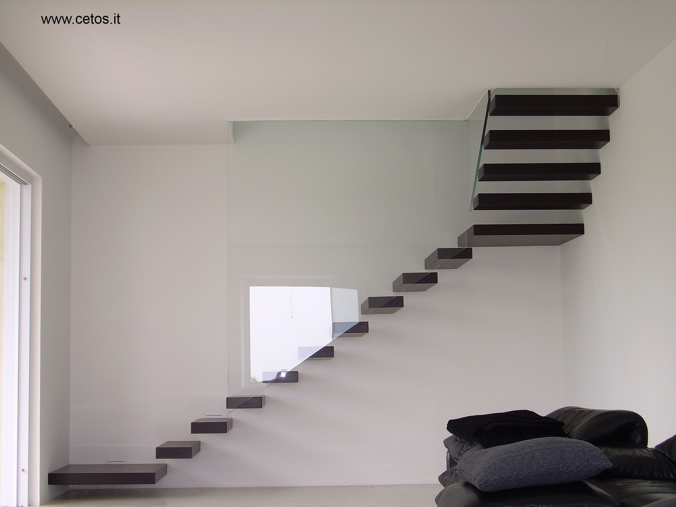 Scala a sbalzo Scale Pinterest Scale, Interiors and