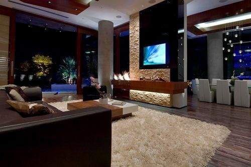 Pin By Sony Electronics On Gorgeous Rooms Tech Bill Gates S House Ultimate Party House Inside Celebrity Homes