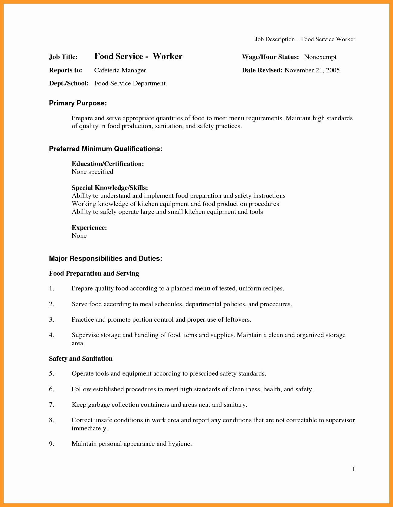 Assembly Line Worker Resume Beautiful 9 10 Production