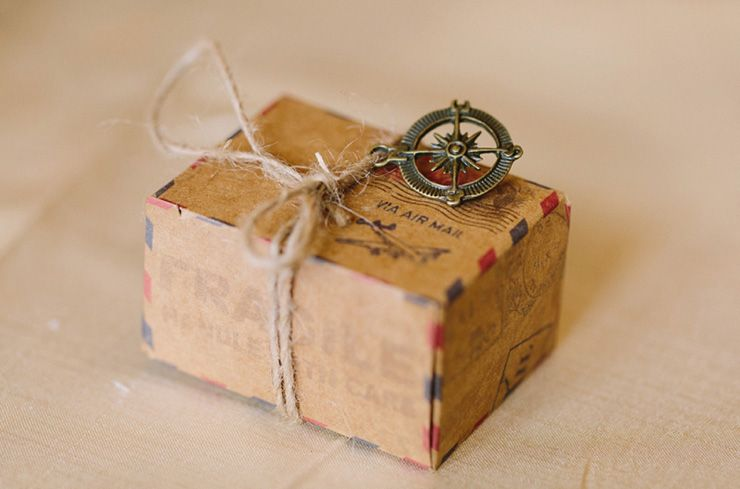 Vintage Travel Themed Celebration - Wedding Favor | fabmood.com