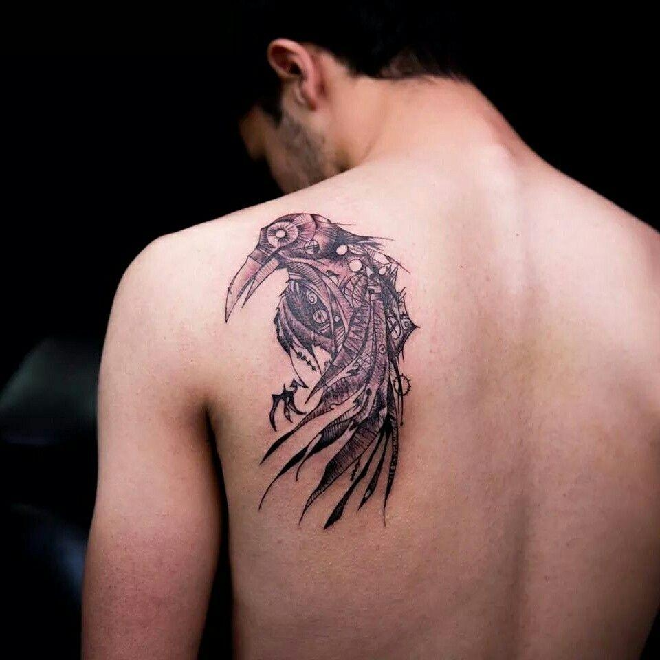 Crow tattoo krähen tattoos pinterest tattoo