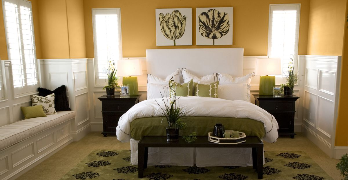 Yellow Inspired Rooms | Warm bedroom colors, Bedroom color ...