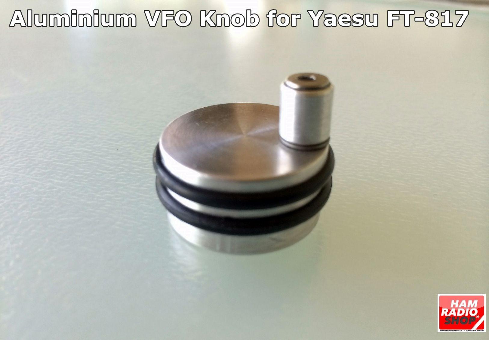 Accessori vari -  - HRS-817 Manopola VFO in alluminio per Yaesu FT-817