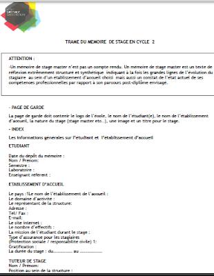 Exemple De Plan D Un Mémoire Pdf Plan D Un Mémoire De