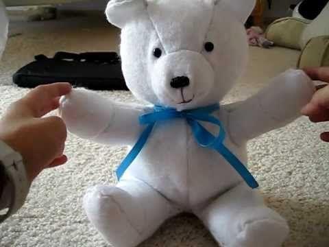 5bf4de2eb0a How to Make a Teddy Bear -  10 Facial Features - YouTube