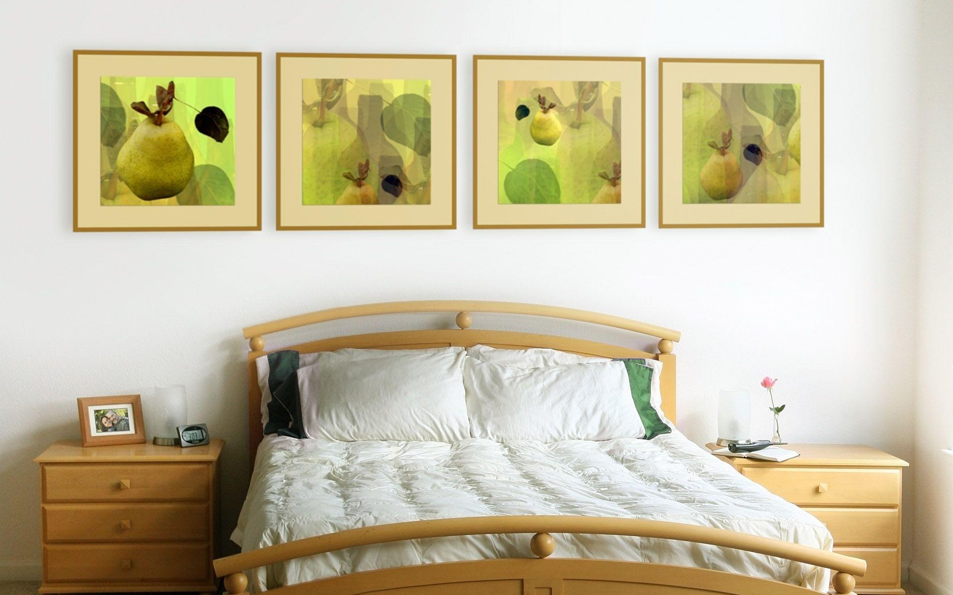idée déco chambre a coucher jolis tableaux dans une chambre à ...