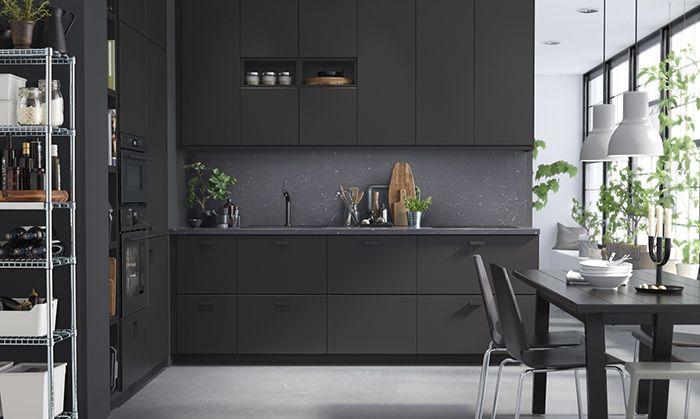Meuble De Cuisine Ikea Noir
