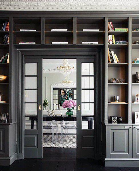 Photo of Top 60 der besten eingebauten Bücherregal-Ideen Interior Bookshelf Designs