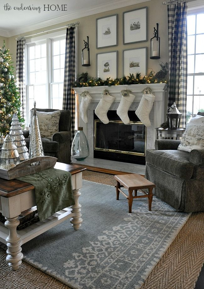 holiday home tour 2015 family room the endearing home top ten