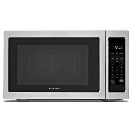 Kitchenaid 1 6 Cu Ft Countertop Microwave Stainless Steel