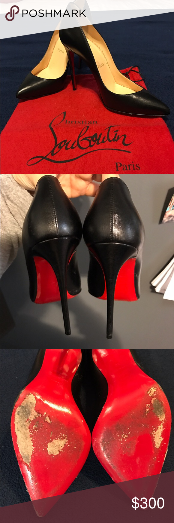 Christian Louboutin So Kate Scuffed bottom sole but otherwise insole and exterior is decent. Comes with dust bag. Authentic. 120mm, size 36 (6 US) Christian Louboutin Shoes Heels