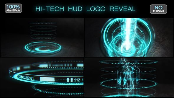 Hi-tech HUD Logo Reveal (Technology) #Envato #Videohive ...