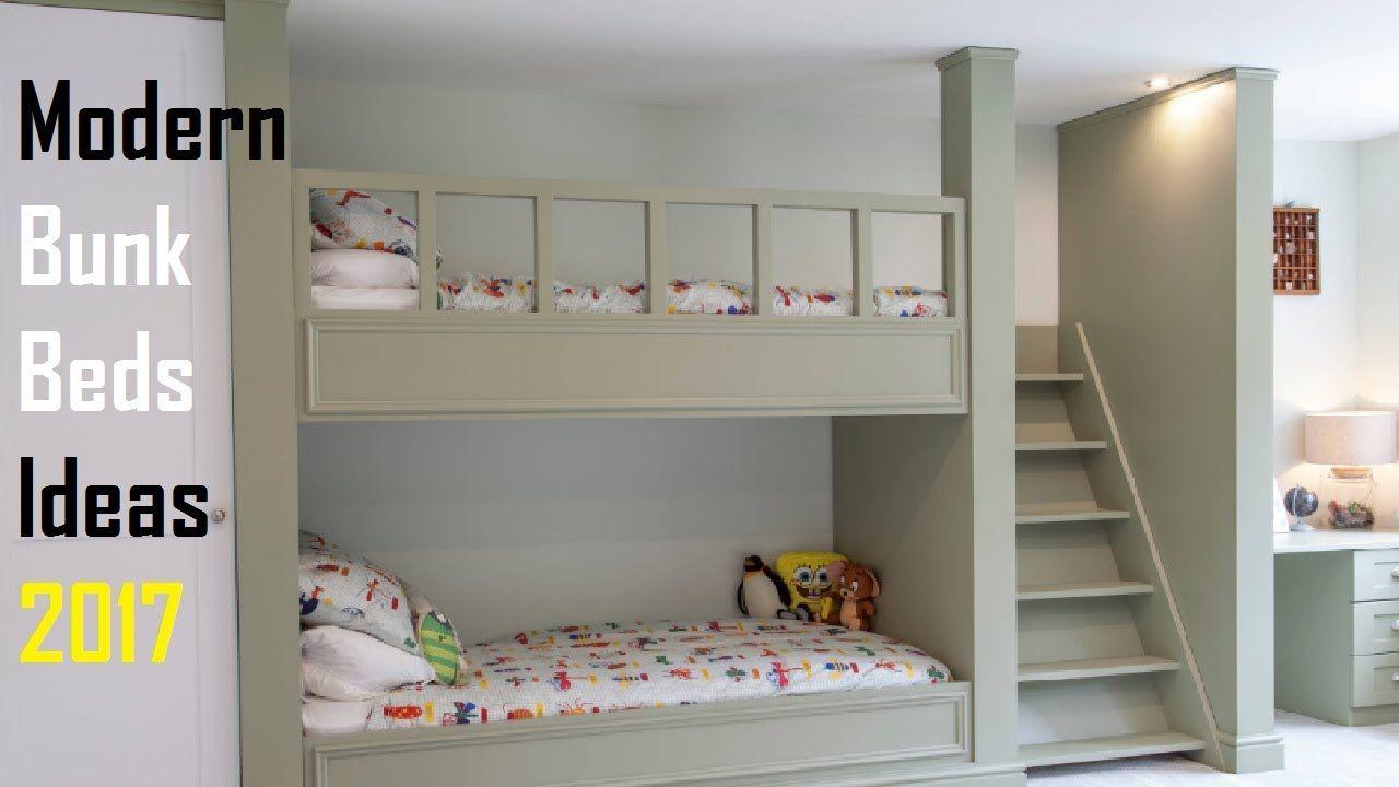Built in loft bed ideas   Modern Bunk Beds Ideas   Amazing Bunk Bed Room Ideas Part