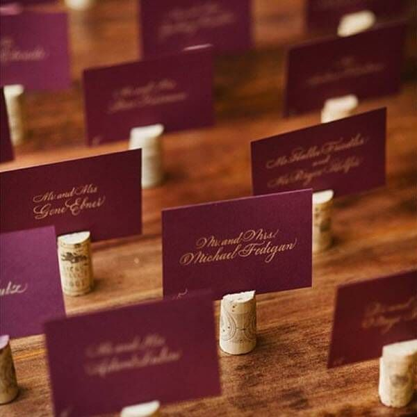 Cork Wedding Decorations: 7 Simple & Stunning Wine Cork Wedding DIY Ideas